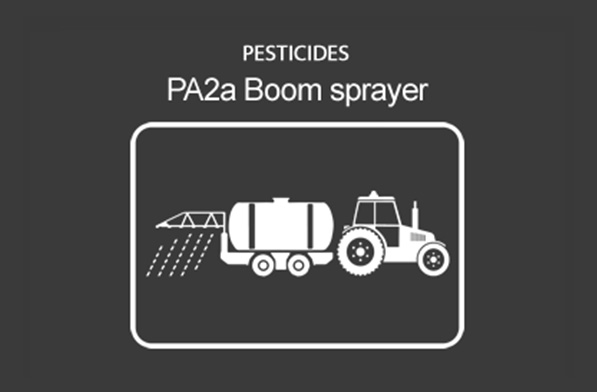 Pesticides (PA2) Group Crop Sprayer