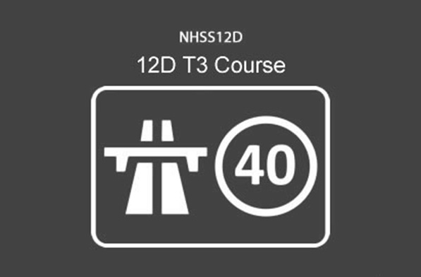 NHSS 12D T3 Lane Closures on Dual Carriageways 40 mph and below