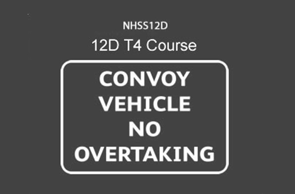NHSS 12D T4 Convoy Working
