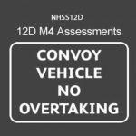 NHSS 12D M4 Traffic Management Operative Assessments (Convoy Working)