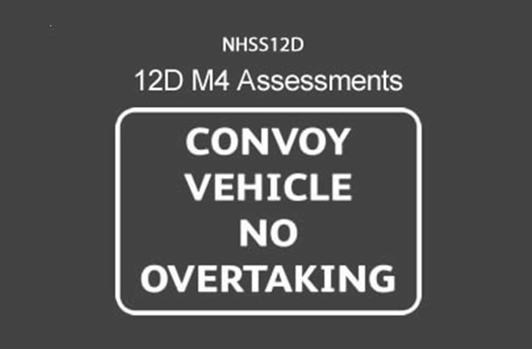 NHSS 12D M4 Traffic Management Operative Assessments (Convoy Working)