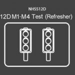 NHSS 12D M1- M4 Refresher (Test Only)