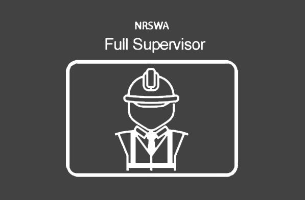 NRSWA Supervisor (Units 001, 010 – 014 & 016)